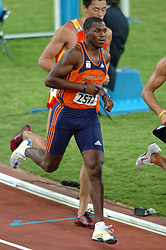 Eugène Martineau NED in action during Olympics Games Athletics day 12 on August 24, 2004 in Olympic Stadion Spyridon Louis, Athens.