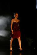 Belo Horizonte_MG, Brasil. ..Modelo desfilando no Oi Fashion Tour no Palacio das Artes...The model parading in the Oi Fashion Tour in The Palacio das Artes...Foto: LEO DRUMOND / NITRO