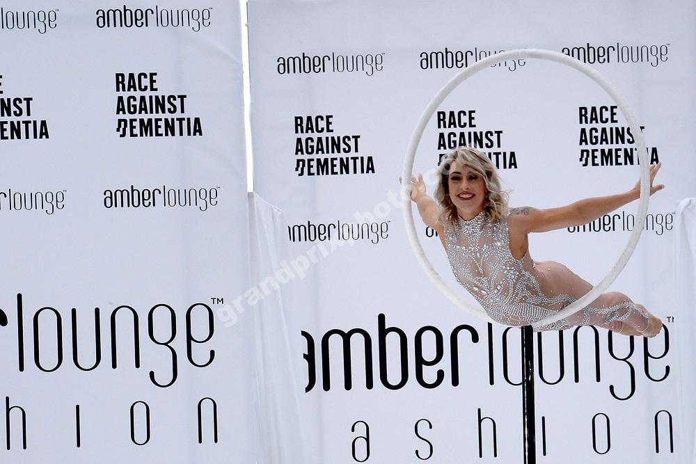 Amber Lounge fashion showbefore the 2019 Monaco Grand Prix. Photo: Grand Prix Photo