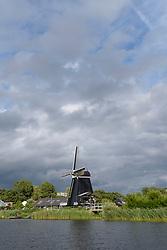 Molen de Eenhoorn, Haarlem Schalkwijk, Noord Holland, Netherlands