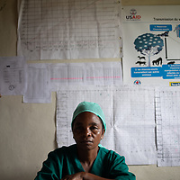 Beatrice Nicole Habari is a nurse in Vighole near Butembo. Local health infrastructure was improved and the health teams in the area were supported and strengthened during the Ebola crisis which ended in June 2020.