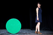 CE JOUR LA , 2011 ,Mise en scene par Salome Lelouch avec Rachel Arditi au theatre du chene noir pendant le festival d'Avignon du 8 au 31 juillet