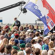 NLD/Terneuzen/20190831 - Start viering 75 jaar vrijheid, Koning Willem Alexander en Koning Filip van Belgie