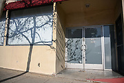 General overall view of 3107 Pico Blvd, the original location of Blue Ribbon Sports which later became Nike, Sunday Feb. 7, 2021, in Santa Monica, Calif.(Dylan Stewart/Image of Sport)