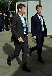 (c) Licensed to London News Pictures. <br /> 03/10/2017<br /> Manchester, UK<br /> <br /> X at the Conservative Party Conference held at the Manchester Central Convention Complex.<br /> <br /> Photo Credit: Ian Forsyth/LNP
