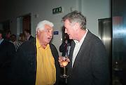 ANTONIO CARLUCCIO; MICHAEL PALIN, Launch party for the publication of Antonio Carluccio's memoirs, A Recipe for Life, . Carluccio's in Covent Garden Garrick St. London.  26 September 2012