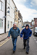 Rob and Ian were both living on the streets of Peterborough for a number of years.  With the help of Hope into Action they are now settled into safe and secure housing and are building connections with their families. Peterborough, Cambridgeshire. UK