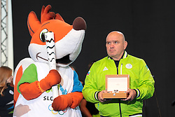 Marjan Fabjan during reception of Slovenian Olympic Team at BTC City when they came back from Rio de Janeiro after Summer Olympic games 2016, on August 26, 2016 in Ljubljana, Slovenia. Photo by Matic Klansek Velej / Sportida