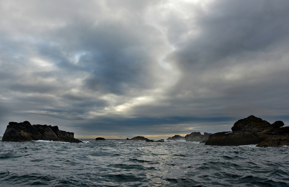 Turtle Rock and the Western Rocks, Isles of Scilly