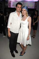 DANIEL PIRRIE and ANTONIA HEDLEY-DENT at the Tanqueray No.TEN cocktail party held at No1 Piazza, Covent Garden, London on 10th June 2008.<br /><br />NON EXCLUSIVE - WORLD RIGHTS