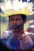 Papua New Guinea, Kitava Island, The Trobriands, dancer<br />