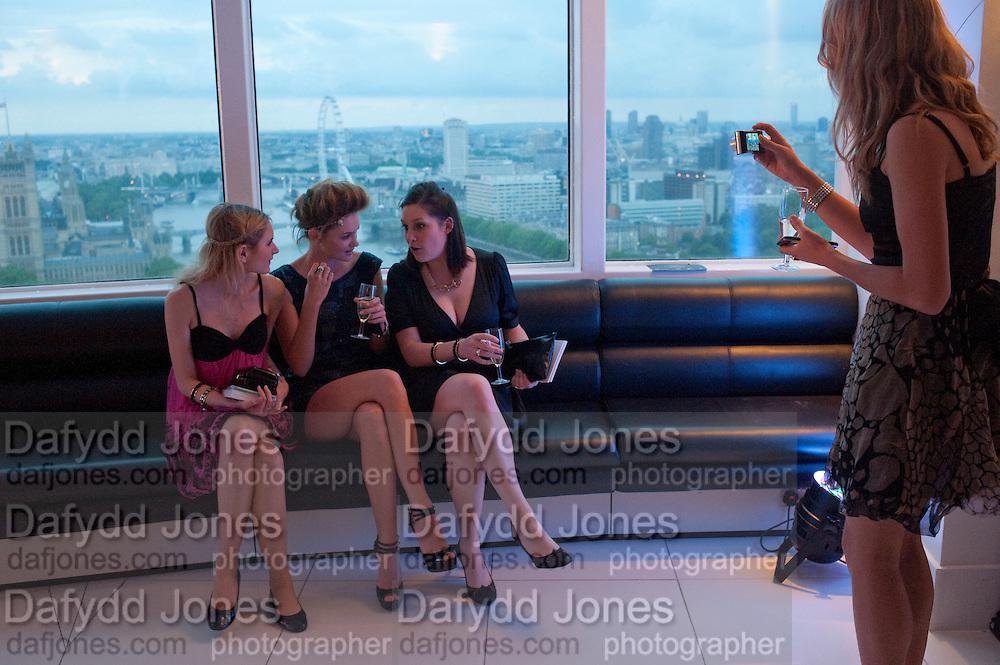 LYDIA ZACHARIS; ; ALEX EVANS;  LISA FELDMAN;  BEANY GAY;,, THE launch of Coutts london jewelry week. Altitude 360. Millbank.  9 June 2009