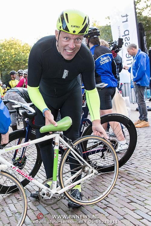 NLD/Amersfoort/20180929 - Bn-er fietsen de Zuiderzee Klassieker 2018, Gert Jacobs