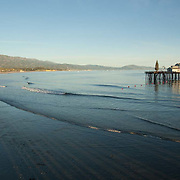 The beach at Santa Barbara,CA.