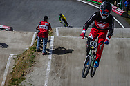 #66 (PALMER James) CAN during round 4 of the 2017 UCI BMX  Supercross World Cup in Zolder, Belgium.
