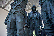The RAF Bomber Command Memorial is a memorial in Green Park in London, near Hyde Park Corner, commemorating the aircrews of RAF Bomber Command who embarked on missions during the Second World War.