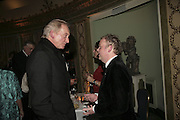 Charles Dance and Toby Jones, Cocktail party before the  27th Annual London Film Critics' Circle Awards. In aid of the NSPCC. Dorchester. 8 February 2007.  -DO NOT ARCHIVE-© Copyright Photograph by Dafydd Jones. 248 Clapham Rd. London SW9 0PZ. Tel 0207 820 0771. www.dafjones.com.
