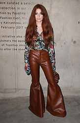 Nicola Roberts attending the House of Holland Autumn/Winter 2017 London Fashion Week show at the Tate Modern, London. Photo credit should read: Doug Peters/ EMPICS Entertainment