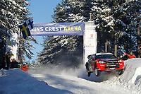 MOTORSPORT - WORLD RALLY CHAMPIONSHIP 2011 - RALLY SWEDEN / RALLYE DE SUEDE - 10 TO 13/02/2011 - KARLSTAD (SWE) - PHOTO : FRANCOIS BAUDIN /  DPPI - <br /> 11 PETTER SOLBERG / CHRIS PATTERON - CITROEN DS3 WRC - ACTION