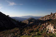 The view from Mirador de la Reina, just above the town of Covadonga in the western part of the Picos de Europa