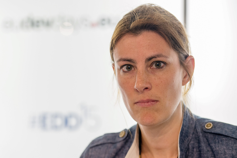 04 June 2015 - Belgium - Brussels - European Development Days - EDD - Financing - Getting the right information into the right hands - Harnessing open data for development - Julia Keutgen<br /> Programme Specialist, Inclusive Political Processes Governance and Peacebuilding, United Nations Development Programme (UNDP) © European Union