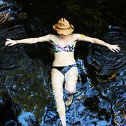 Isaac Hale Park Hot Spring, Big Island, Hawaii.