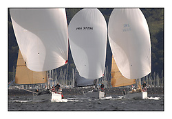 Largs Regatta Week - August 2012..GBR 9740R,  Sloop John T,  Iain & Graham Thomson, FRA 37296,  Salamander XXI,  John Corson, IRL1666,  Carmen 2, Alan Jeffrey/Paul Scutt