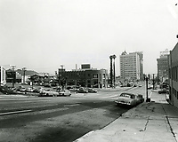 1954 Looking south on Vine St. towards Yucca Ave.