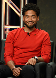 BEVERLY HILLS - AUGUST 8: Jussie Smollett  onstage during the panel for 'Empire' at the FOX portion of the 2017 Summer TCA press tour at the Beverly Hilton on August 8, 2017 in Beverly Hills, California. (Photo by Frank Micelotta/Fox/PictureGroup) *** Please Use Credit from Credit Field ***