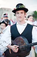 Brodsko kolo, Slavonski Brod, Croatia (9 June 2013). The Brodsko kolo, now in its 49th year, is the oldest folk dancing festival in Croatia.
