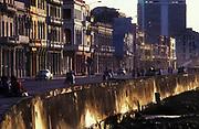 The waterfront or El Malecon, Havana, Cuba  © Jeremy Horner<br /> 1991