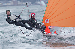 The RYA Youth National Championships came to a close today with racing in all fleets in strong winds on the Largs Channel.<br /> <br /> 2787, Ewan Wilson, Finley Armstrong, Wormit BC, 29er Boy <br /> <br /> Images: Marc Turner / RYA<br /> <br /> For further information contact:<br /> <br /> Richard Aspland, <br /> RYA Racing Communications Officer (on site)<br /> E: richard.aspland@rya.org.uk<br /> m: 07469 854599
