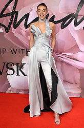 Gigi Hadid attending The Fashion Awards 2016 at The Royal Albert Hall in London. <br /> <br /> Picture Credit Should Read: Doug Peters/ EMPICS Entertainment
