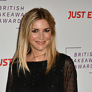 Lisa Faulkner attends the British Takeaway Awards, in association with Just Eat at London's Savoy Hotel on 12 November 2018, London, UK.