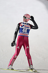 24.11.2012, Lysgards Schanze, Lillehammer, NOR, FIS Weltcup, Ski Sprung, Herren, im Bild Freund Severin (GER) during the mens competition of FIS Ski Jumping Worldcup at the Lysgardsbakkene Ski Jumping Arena, Lillehammer, Norway on 2012/11/23. EXPA Pictures © 2012, PhotoCredit: ..EXPA/ Federico Modica