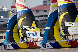 2008 Monsoon Cup. First round robins. Sebastien Col leading Johnie Berntsson (Wednesday 3rd December 2008). .