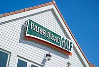TILBURG -  clubhuis. PRISE D'EAU GOLF, golfbaan.  COPYRIGHT KOEN SUYK