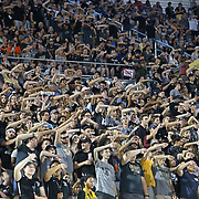 ORLANDO, FL - AUGUST 29: The UCF student section chants during a NCAA football game between the Florida A&M Rattlers and the UCF Knights on August 29 2019 in Orlando, Florida. (Photo by Alex Menendez/Getty Images) *** Local Caption ***