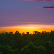 Like many other weekends my family and I like to go to the town of Gainesville Georgia, where we enjoy some of the most beautiful sunsets.