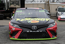 October 5, 2018 - Dover, DE, U.S. - DOVER, DE - OCTOBER 05: Martin Truex Jr driver of the #78 5-hour ENERGY/Bass Pro Shops Toyota gets ready to hit the track for practice for the Monster Energy NASCAR Cup Series Gander Outdoors 400 on October 05, 2018, at Dover International Speedway in Dover, DE. (Photo by David Hahn/Icon Sportswire) (Credit Image: © David Hahn/Icon SMI via ZUMA Press)