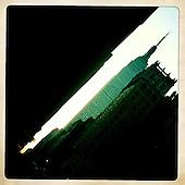 New York. June, 2011 - iPhone relax