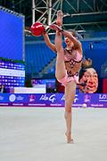 Bozic Laura is a Croatian rhythmic gymnastics athlete born in Pula in 1999. Her team is KRSG Porec.