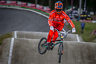 #236 (POPMA Tino) NED during round 4 of the 2017 UCI BMX  Supercross World Cup in Zolder, Belgium.