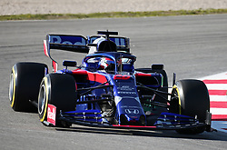 February 18, 2019 - Barcelona, Spain - the Toro Rosso of Daniel Kvyat during the Formula 1 test in Barcelona, on 18th February 2019, in Barcelona, Spain. (Credit Image: © Joan Valls/NurPhoto via ZUMA Press)