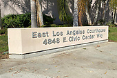News-East Los Angeles Courthouse-Oct 12, 2020