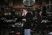 Marco Pierre White. fund raising dinner hosted  by Marco Pierre White and Franki Dettori at  Frankie's. Knightsbridge. 17 January 2004. ONE TIME USE ONLY - DO NOT ARCHIVE  © Copyright Photograph by Dafydd Jones 66 Stockwell Park Rd. London SW9 0DA Tel 020 7733 0108 www.dafjones.com