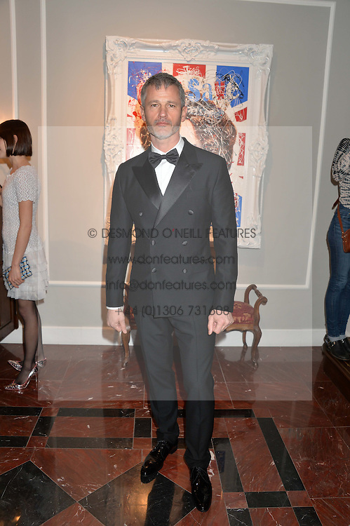 PAUL COSTER at the Dolce & Gabbana London Collections: Mens Event 2014 held at Dolce & Gabbana, 53-55 New Bond Street, London on 5th January 2014.