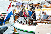 Koninklijke familie bij SAIL Amsterdam