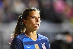 February 27, 2019 - Chester, PA, U.S. - CHESTER, PA - FEBRUARY 27: US Forward Tobin Heath (17) looks on before a corner kick in the first half during the She Believes Cup game between Japan and the United States on February 27, 2019 at Talen Energy Stadium in Chester, PA. (Photo by Kyle Ross/Icon Sportswire) (Credit Image: © Kyle Ross/Icon SMI via ZUMA Press)