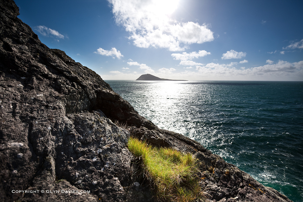The last stretch of dangerous water before the Pilgrims would have reached their destination, the remote but beautifully stark island of Ynys Enlli in North Wales